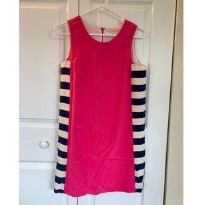 Amanda Uprichard Silk Nautical Shift Dress S
